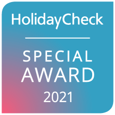 """holidaycheck_award_2021_Ikones_suites"""